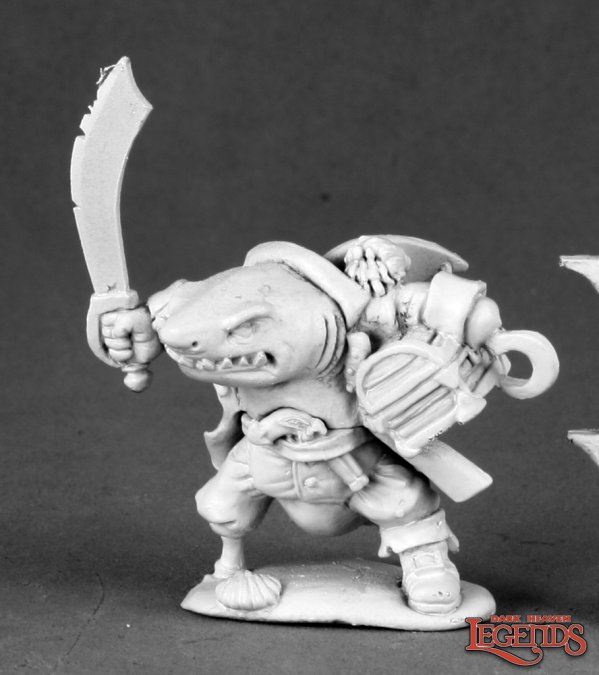Rumscratch, Dwarf Wereshark