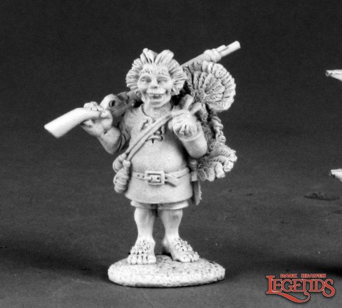 Dorly Luckrock, Halfling Scout