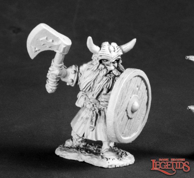 Gerrin Goblinkicker, Dwarf Hero