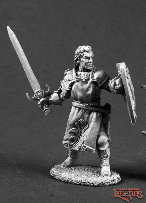 Ashlan Fellthrush, Heroic Paladin