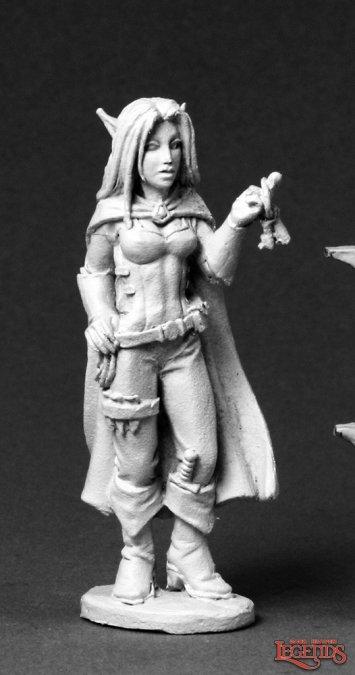 Valloa, Female Elf Thief