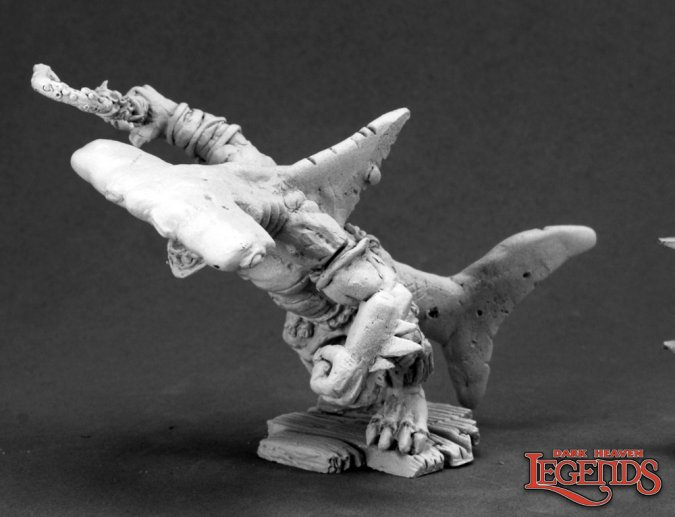 Shred Bloodgill, Hammerhead Wereshark