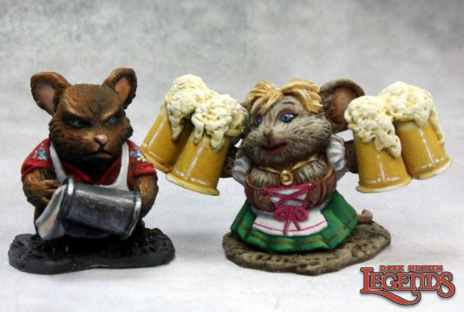 Mousling Bartender and Wench