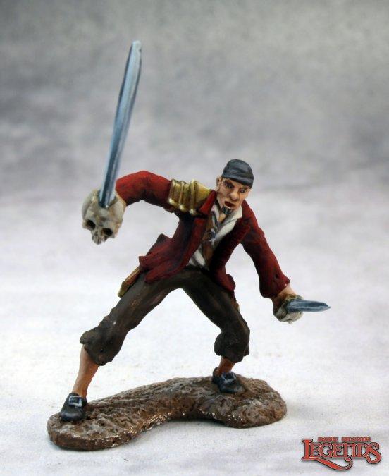 Elsker Longlegs, Pirate