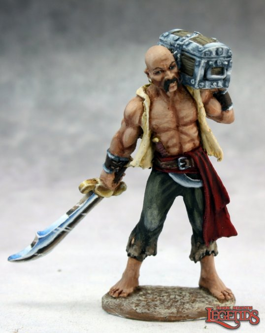 Hajad, Torgan Pirate with Loot