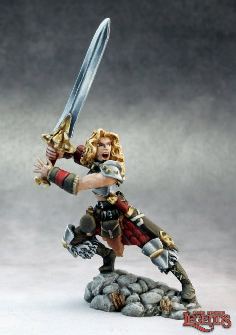 Deenah, Female Barbarian