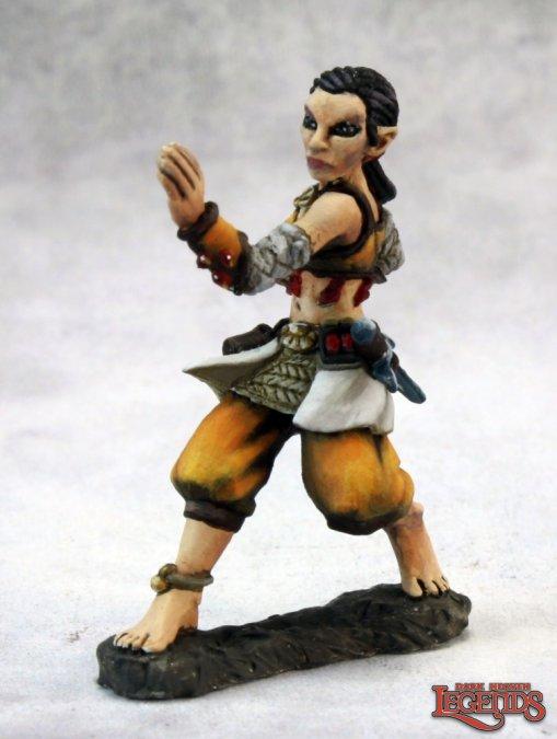Esmeria, Half Elf Monk