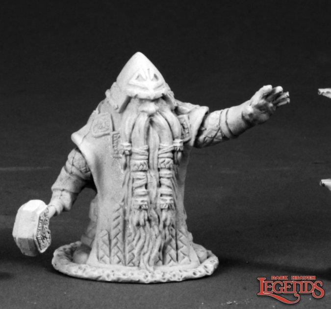 Grimm Grayrune, Dwarf Priest