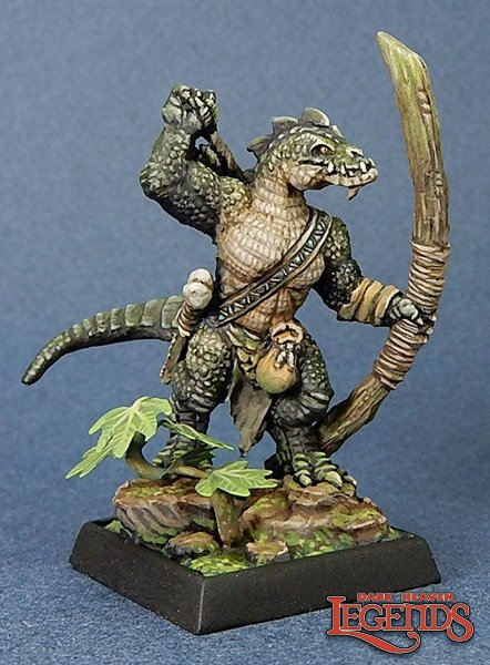 Lizardman Archer