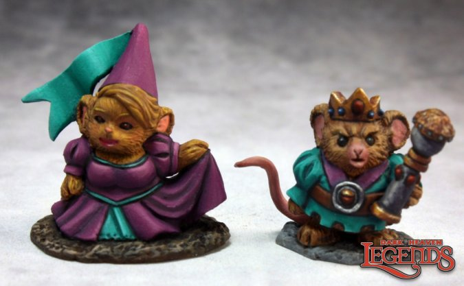 Mousling King & Princess