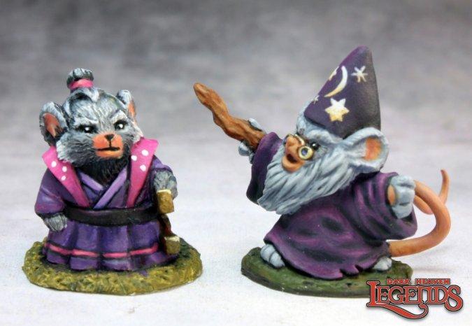 Mousling Sorcerer & Samurai