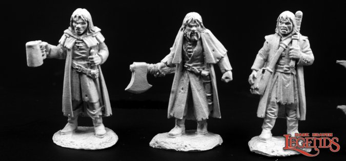 Townsfolk of Dreadmere: Mercenaries (3)