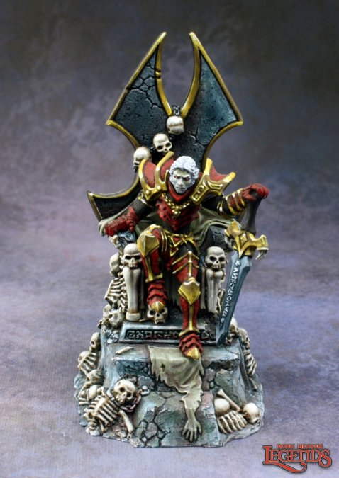Dragoth the Defiler, Undead Lord on Throne
