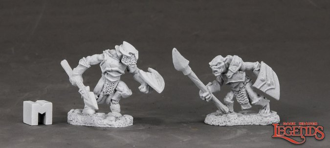 Armored Goblin Spearman (2)