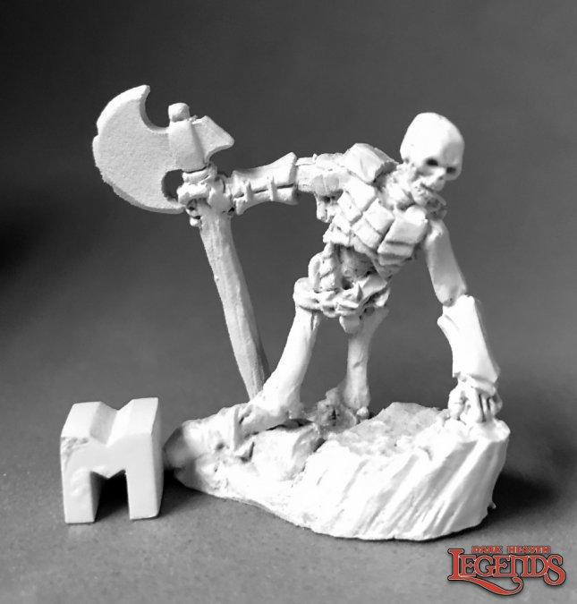 Bog Skeleton Rising