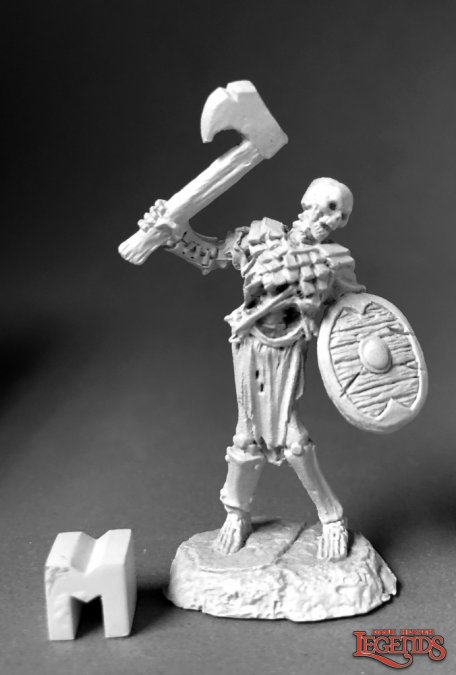 Bog Skeleton (Axe & Shield)