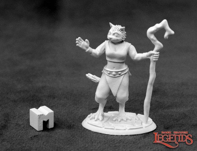 Mistveil, Catfolk Sorceress