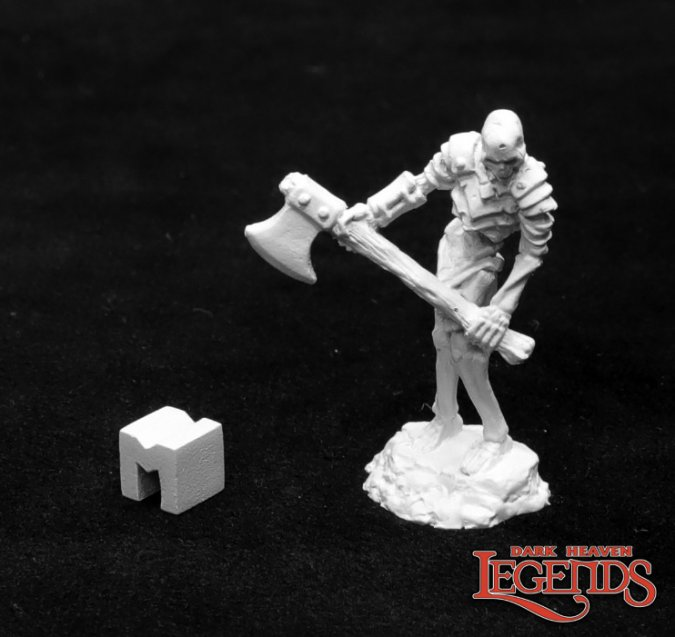 Bog Skeleton with Great Axe
