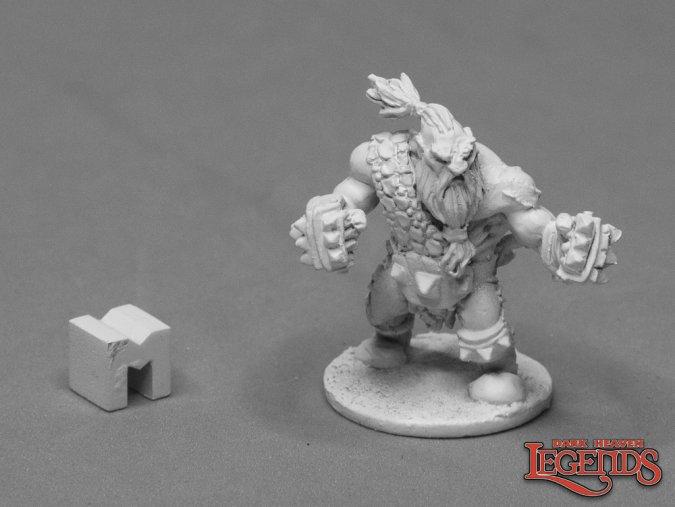 Hanrik, Dwarf Pugilist