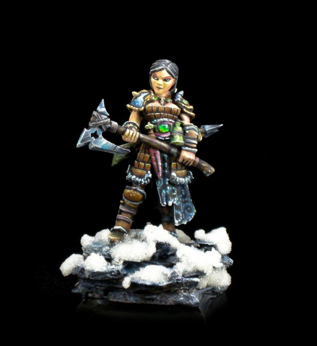 Hanei, Female Warrior