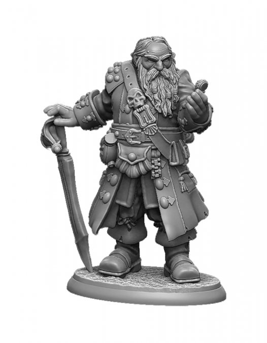 Barnabus Frost, Pirate Lord of Brinewind