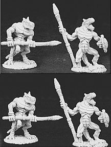 Lizard Men w/Spears