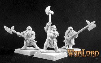 Halberdiers(9), Dwarf Grunt