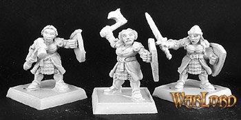 Shield Maidens(9), Dwarf Adept