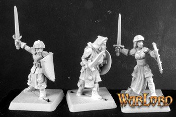 Mercenary Warriors(9) Mercenaries Grunt