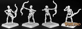 Skeletal Archers (9), Necropolis Adept
