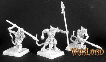 Reptus Clutchling Spearmen (9)