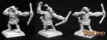 Bull Orc Archers (6), Reven Adept