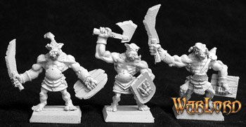 Bull Orc Fighters (6), Reven Grunt