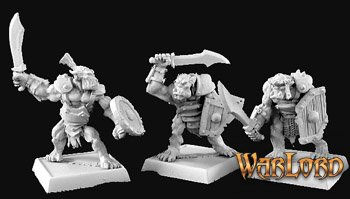 Lesser Orc Warriors(9) Reven Grunt