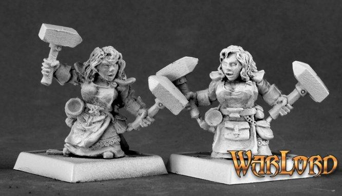 Dwarf Forgemaidens (9)