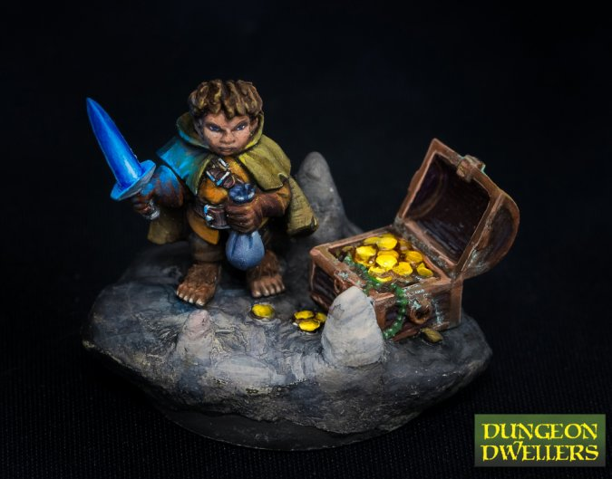 Stitch Thimbletoe, Halfling Thief