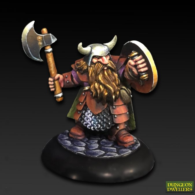 Borin Ironbrow, Dwarf Adventurer