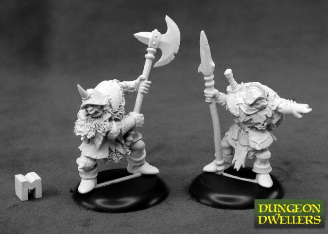 Dungeon Dwellers: Orc Warriors (2)