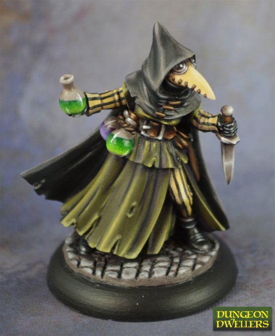 Dungeon Dwellers: Sister Hazel, Plague Doctor