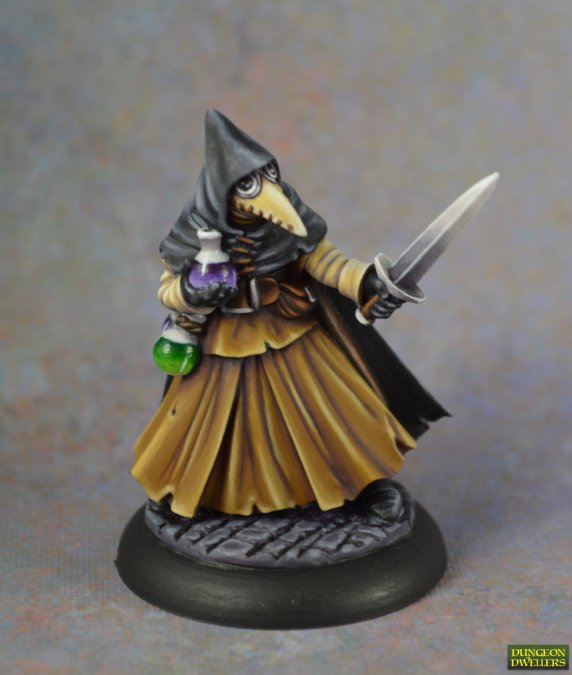 Dungeon Dwellers: Brother Lazarus, Plague Doctor