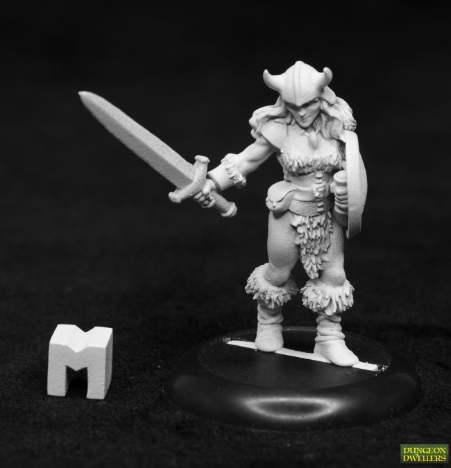 Dungeon Dwellers: Jana Frostwind, Barbarian