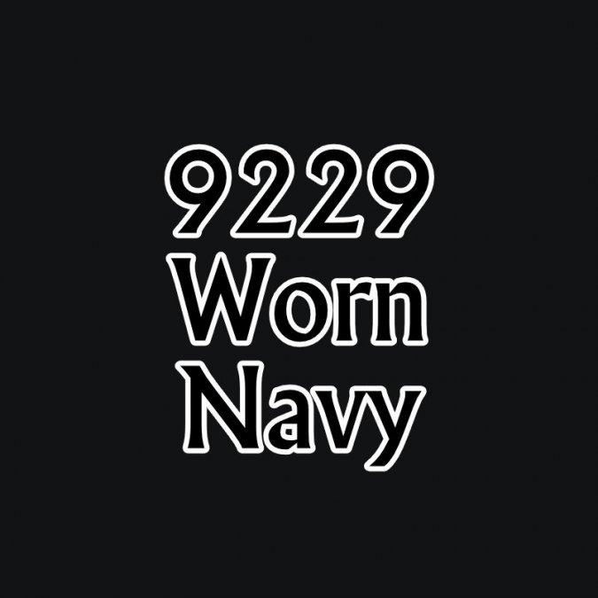 Worn Navy