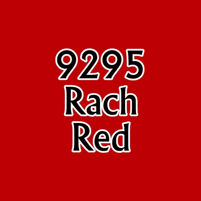MSP Core Colors: Rach Red
