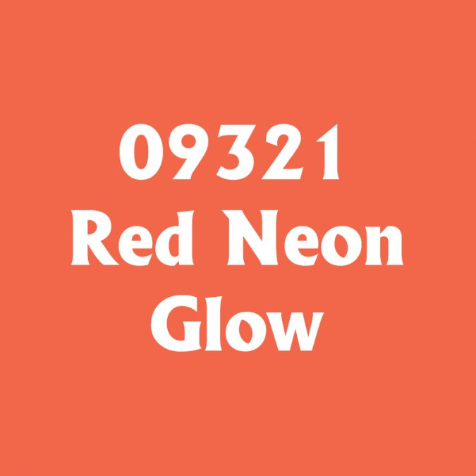 Red Neon Glow