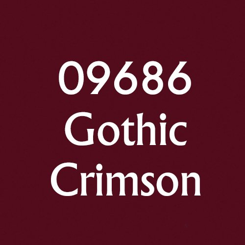 MSP Core Colors: Gothic Crimson