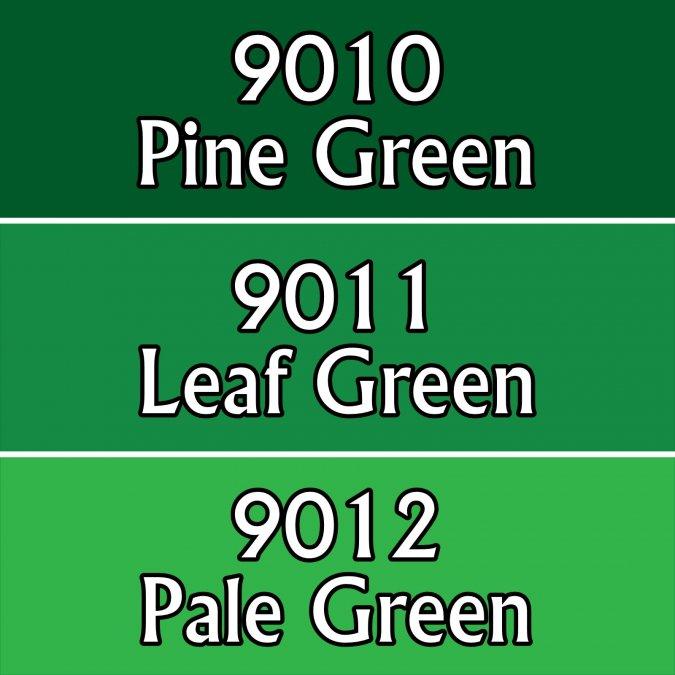 Warm Greens