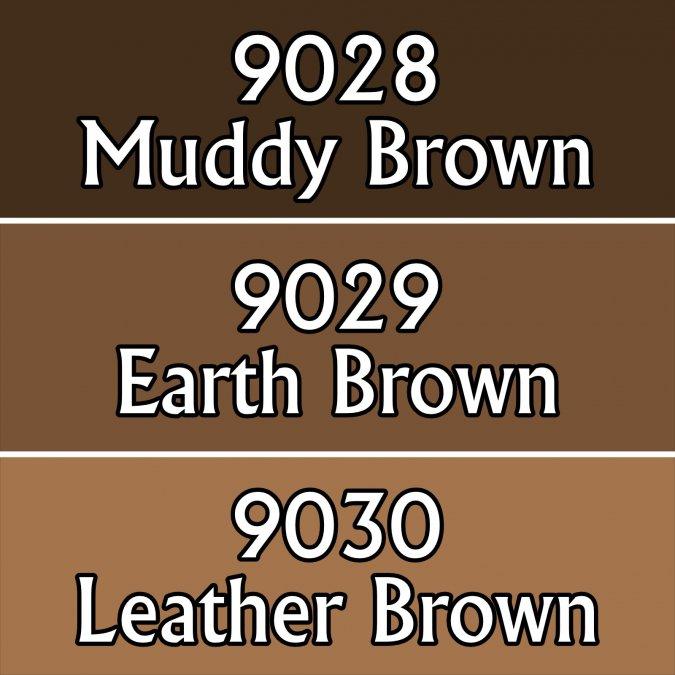 Warm Deep Browns