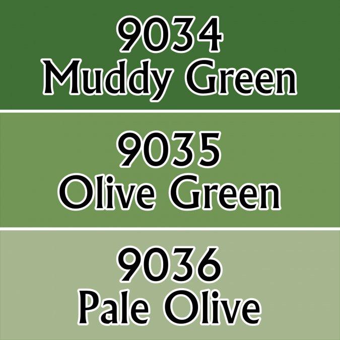 Olive Greens
