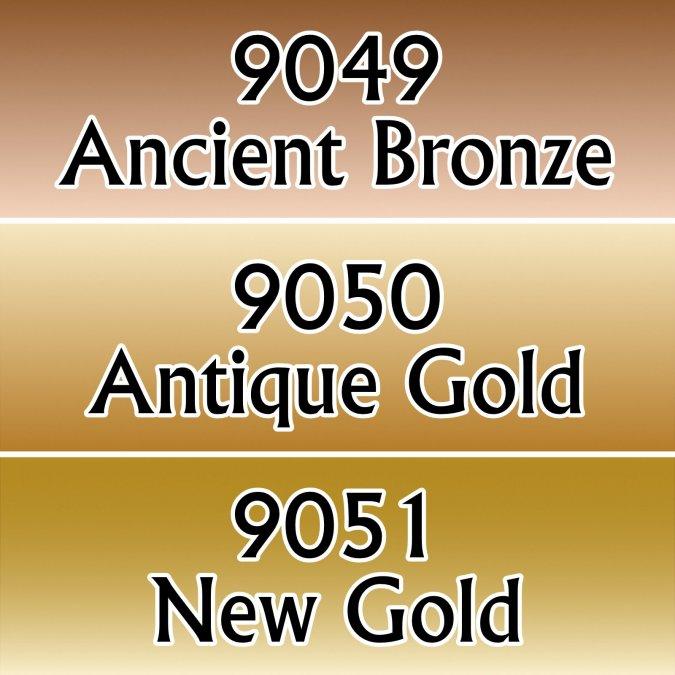 Gold-toned Metal