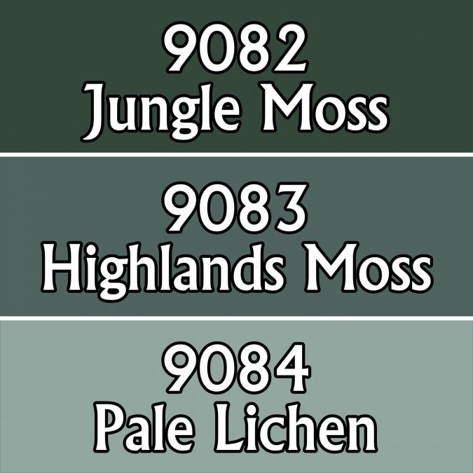 Moss Colors